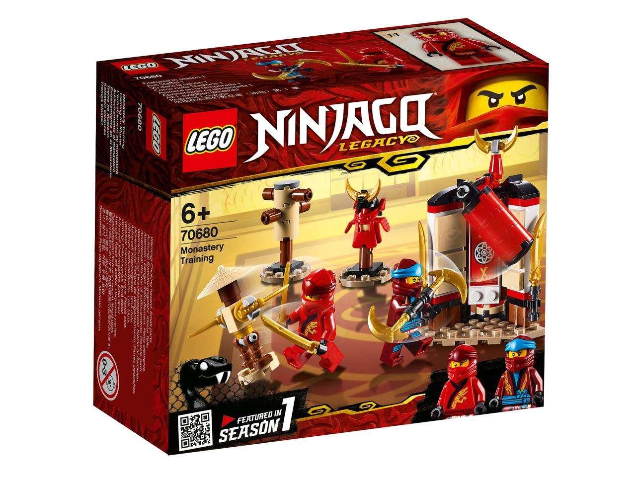 Конструктор LEGO Ninjago. Обучение в монастыре