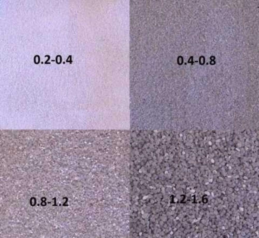 Песок сухой для пескоструйных работ