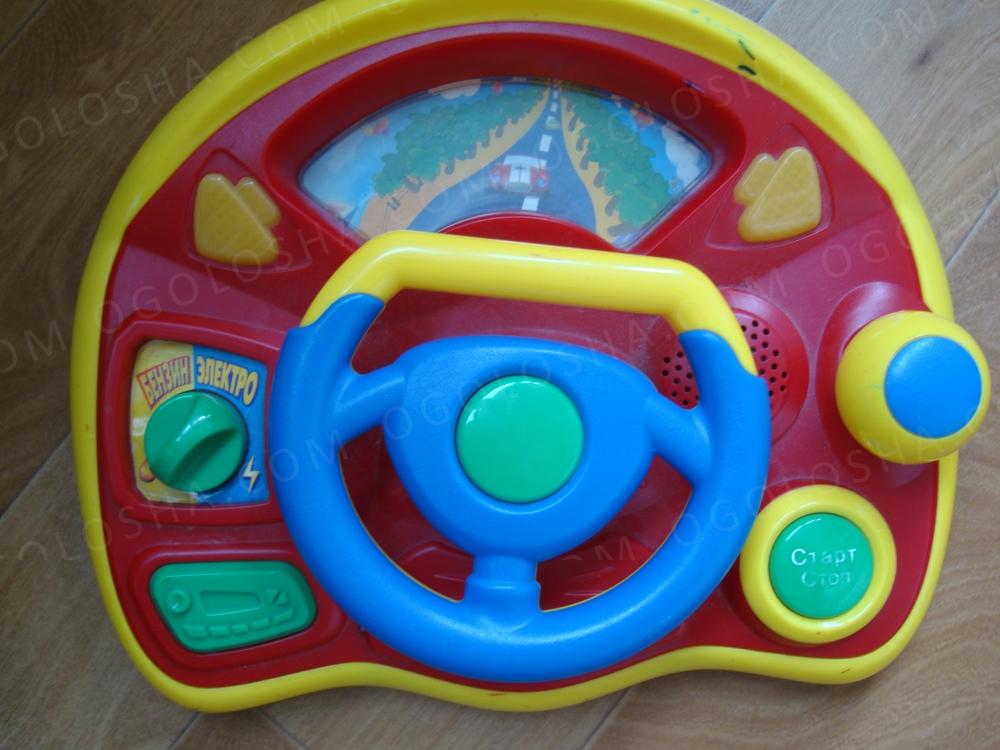 Fancy Toys LT1094-TV80FY Весёлые гонки - Интерактивный руль