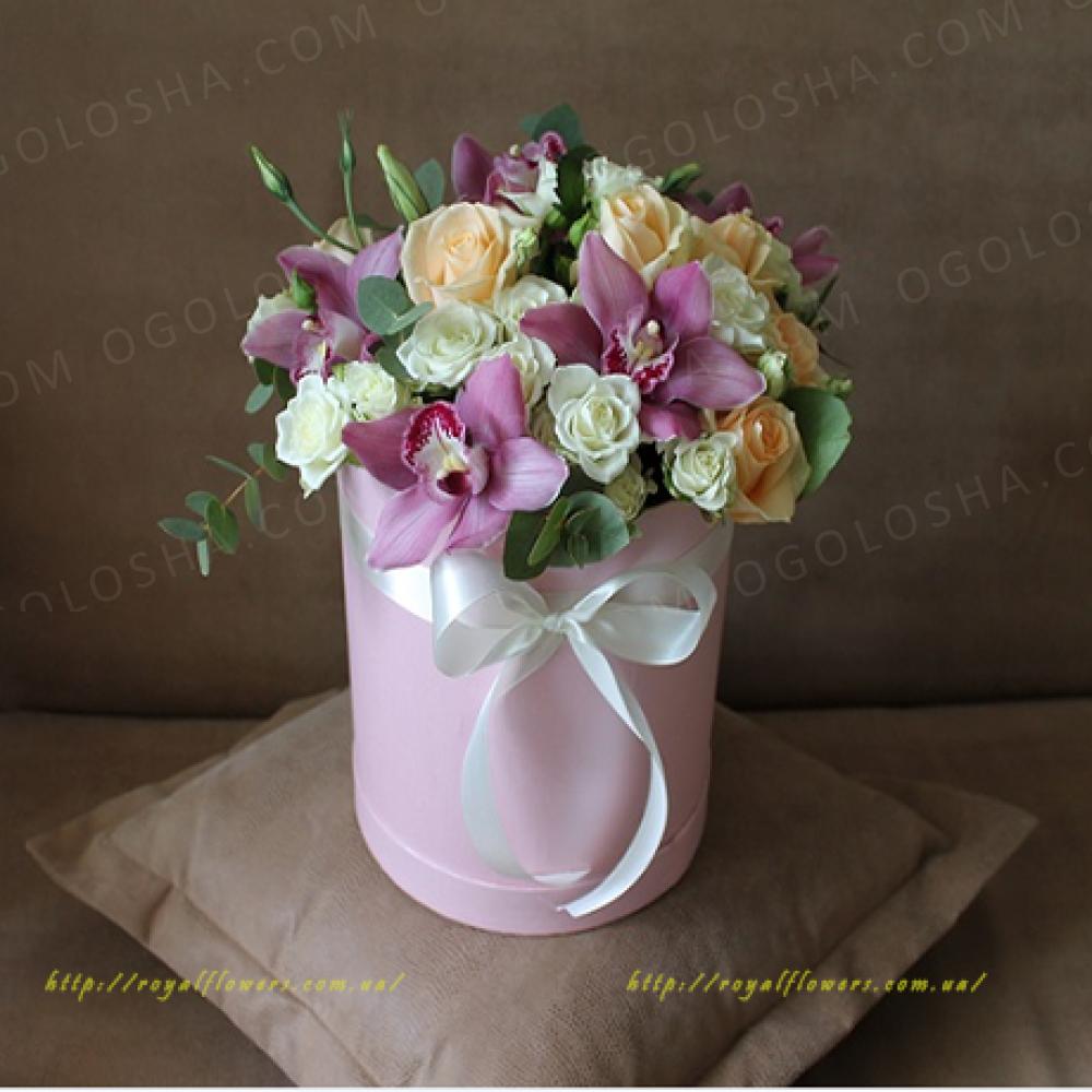 Бесплатная доставка цветов по Киеву Royal flowers