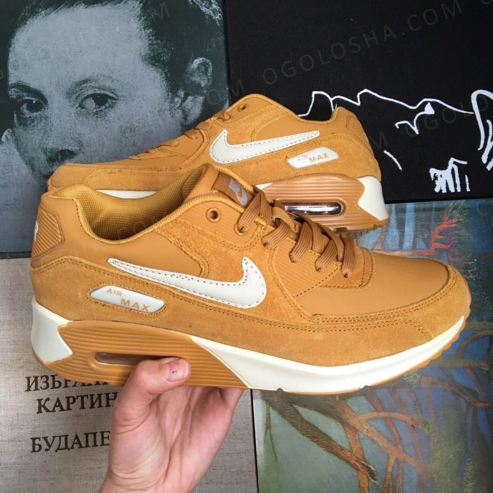Кроссовки Nike air max коричневые