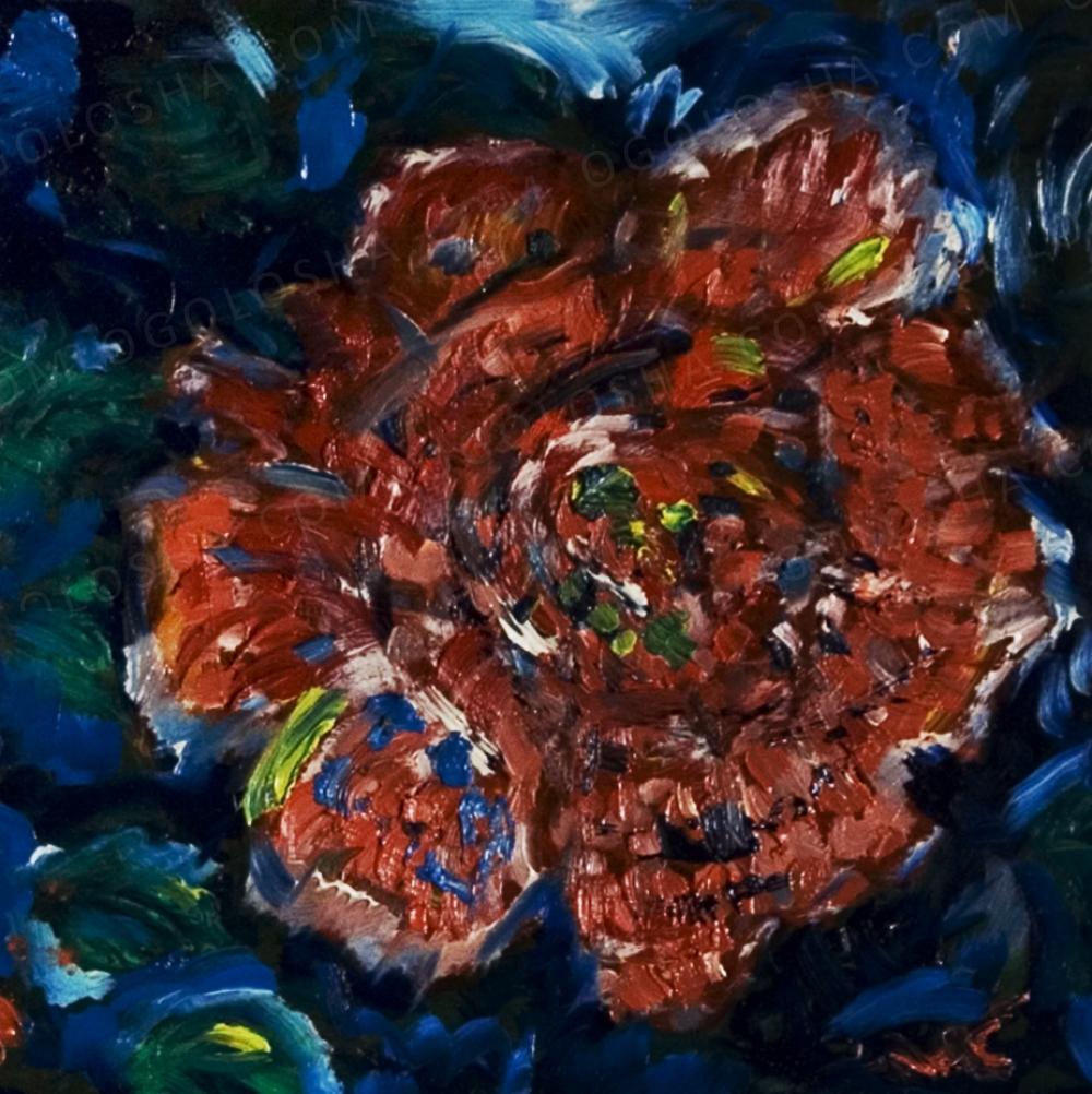 Талантливый художник продает свои картины.