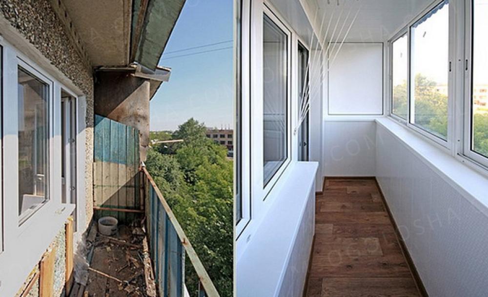 Остекление балконов и лоджий в уфе, цены, застеклить балкон .
