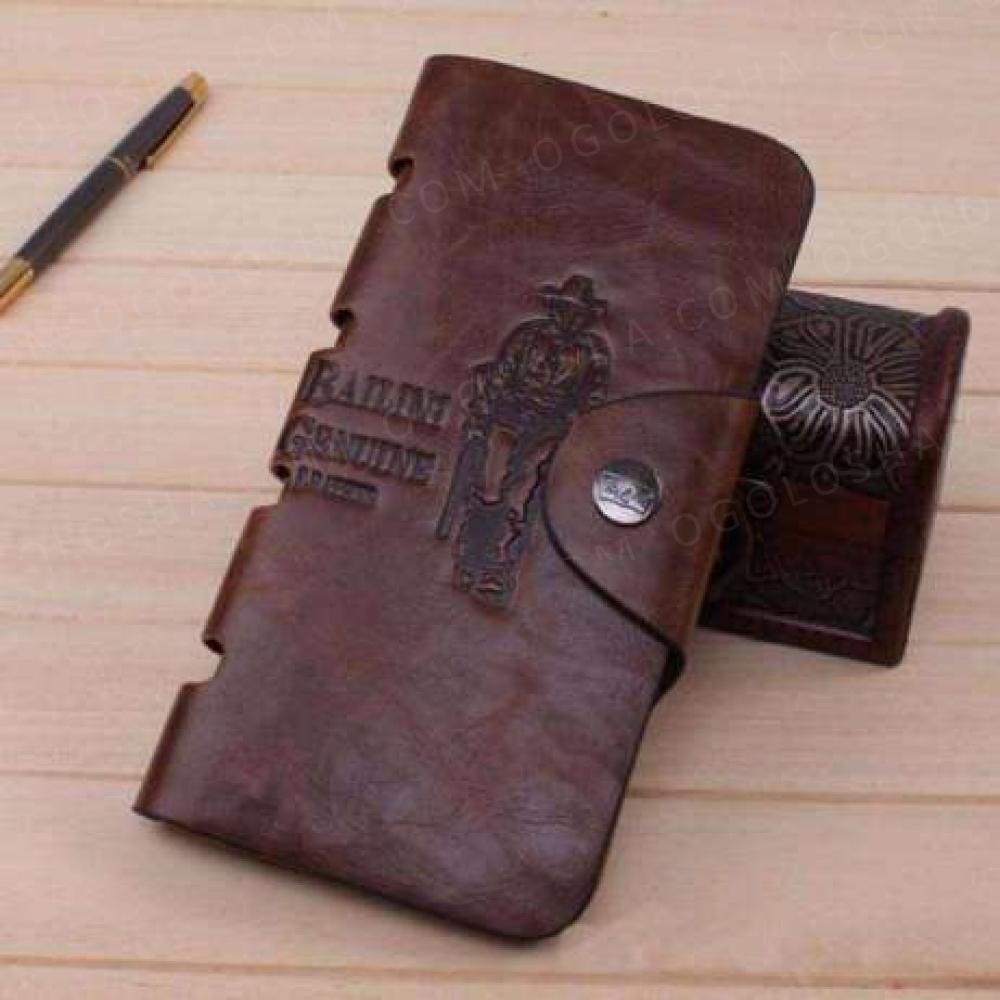 Мужской бумажник Bailini long портмоне клатч