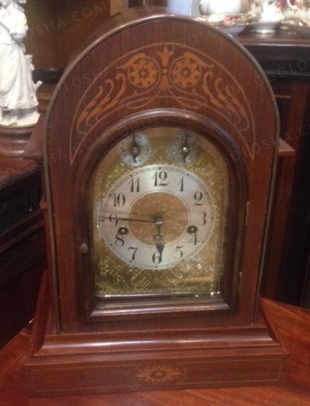 Лот 2299. Кабинетные часы Юнганс для Англии, 1923 год