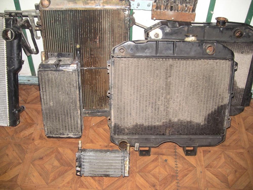 Ремонт автомобильных радиаторов,интеркулеров,чистка печек.