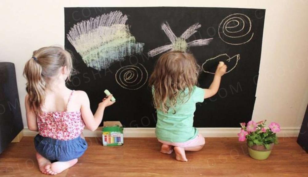 Наклейка на стену для рисования мелом 2 размера: 40х200 и 60х200