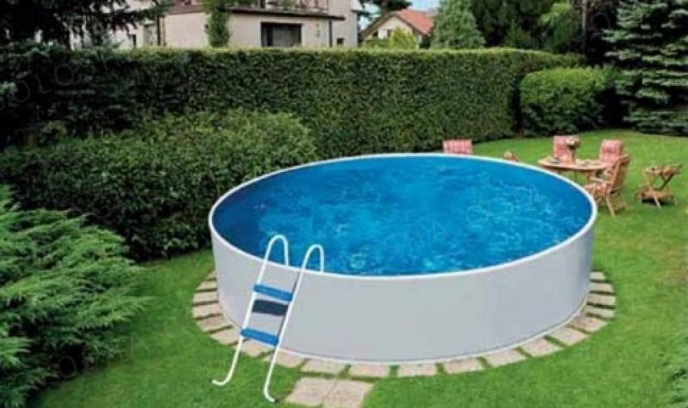Сборный наземный бассейн Mountfield Azuro Basic 240 с фильтром Azuro 2000(2,4x0,9м 4000л)