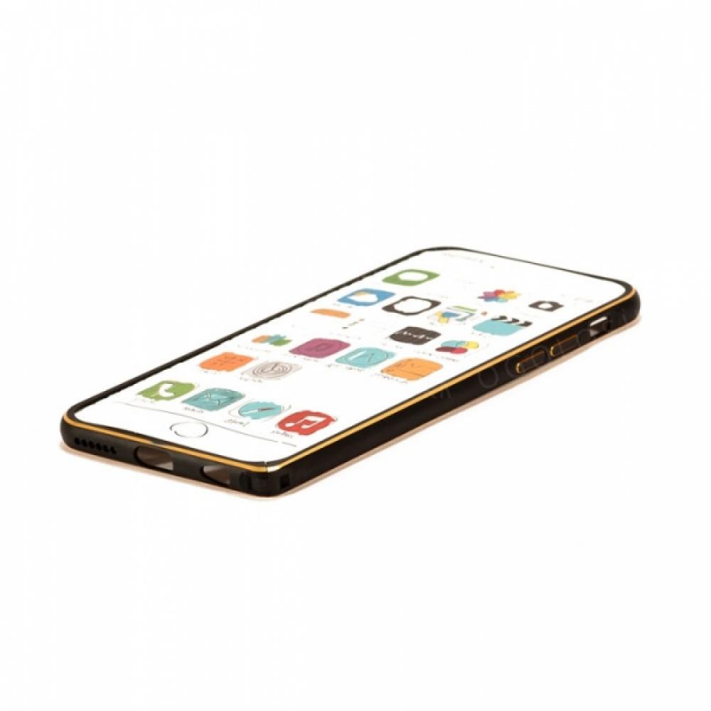 Алюминиевый Бампер на защёлке Remax для на iPhone 6/6S