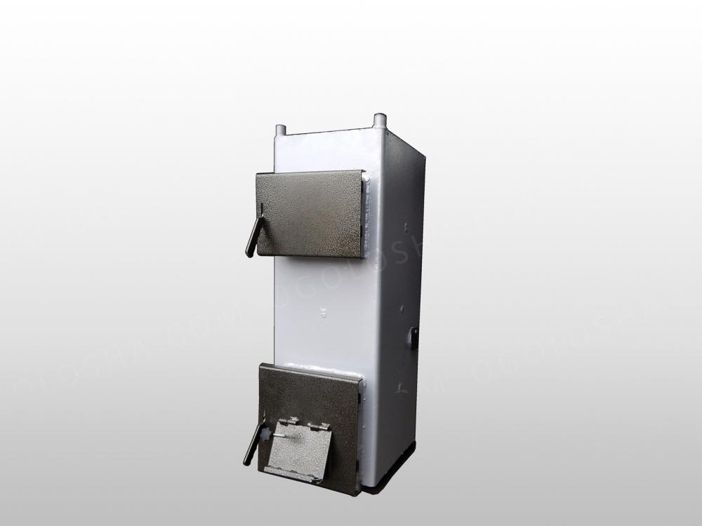 Котел длительного горения  Тирас 2012 мощностью 12 кВт (без теплоизоляции)
