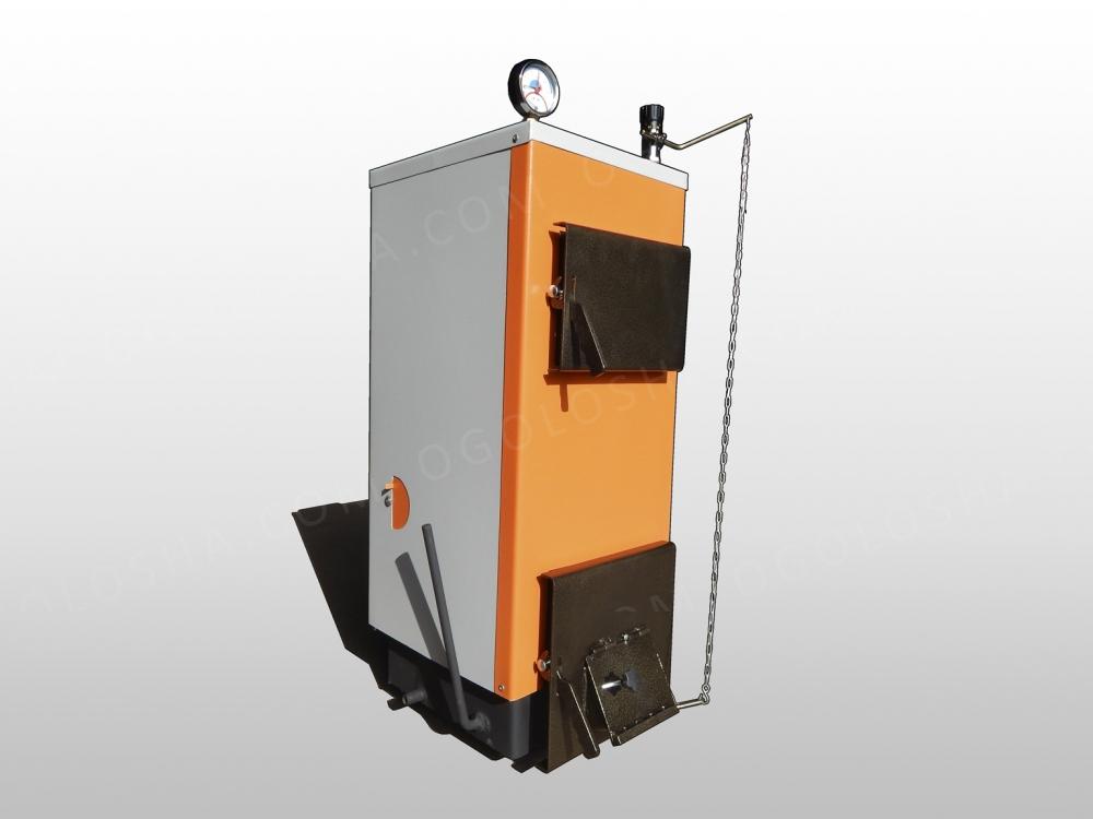 Котел длительного горения  Тирас 2012 мощностью 12 кВт (с теплоизоляцией)
