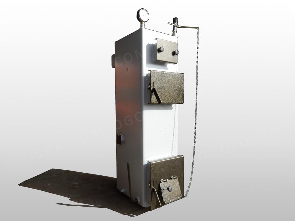 Kотел длительного горения  Тирас 2012 мощностью 16 кВт (без теплоизоляции)
