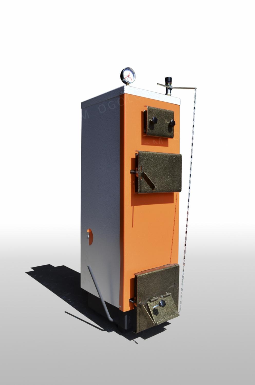 Котел длительного горения Тирас 2012 мощностью 16 кВт (с теплоизоляцией)