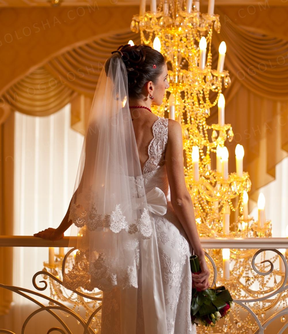 Свадебное платье (пошив Италия, Милан) ручная работа