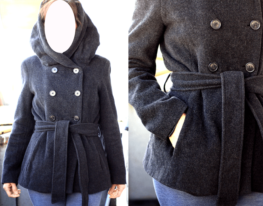 Классное стильное Пальто от Zara Basic весна! шерстяное теплое мантия