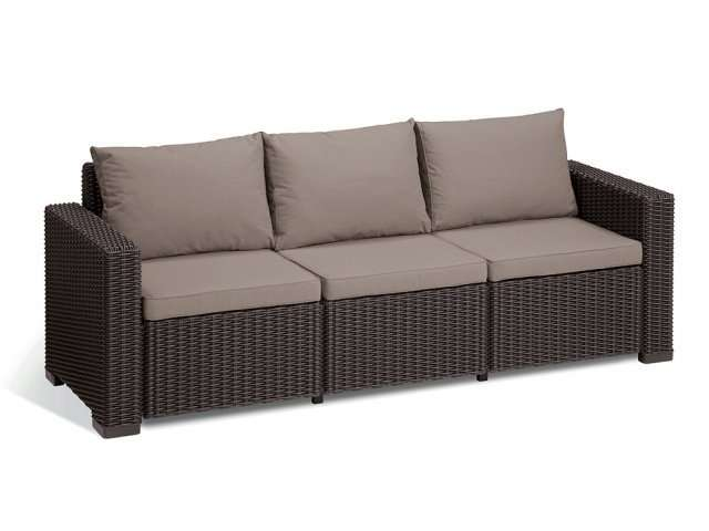 Садовая мебель California 3 Seater Sofa Allibert, Keter