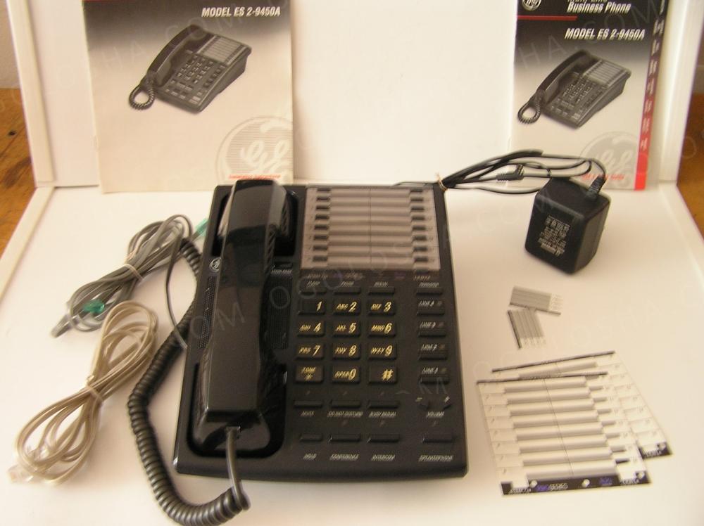четырехлинейный телефон ES2-9450E