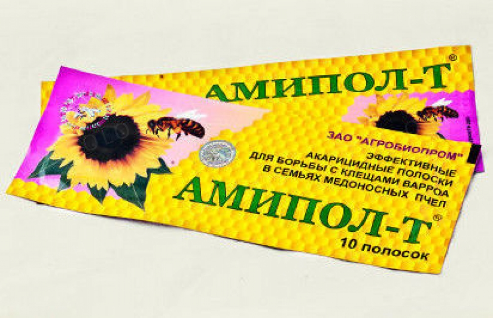 Амипол-Т  (10 полосок в 1 уп.ставить в холодный период)