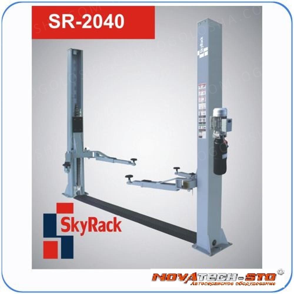 Подъемник двухстоечный купить SkyRack sr 2040