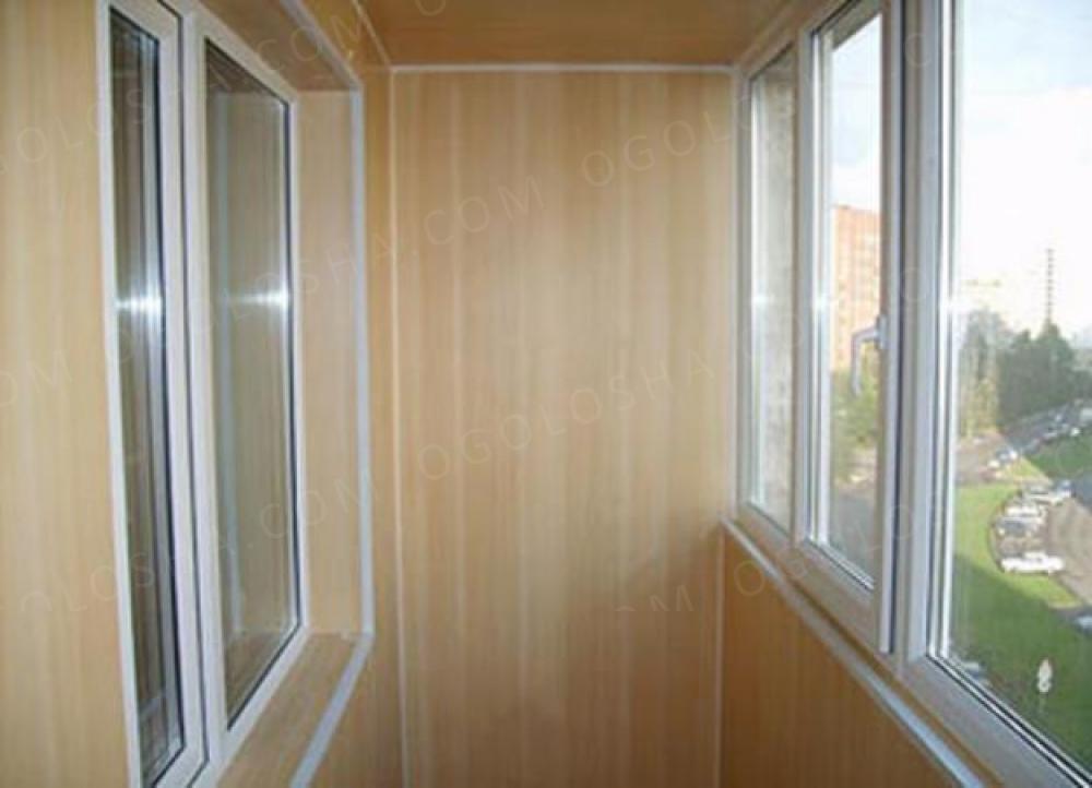 Балконы и лоджии, внутренняя отделка - строительство и ремон.