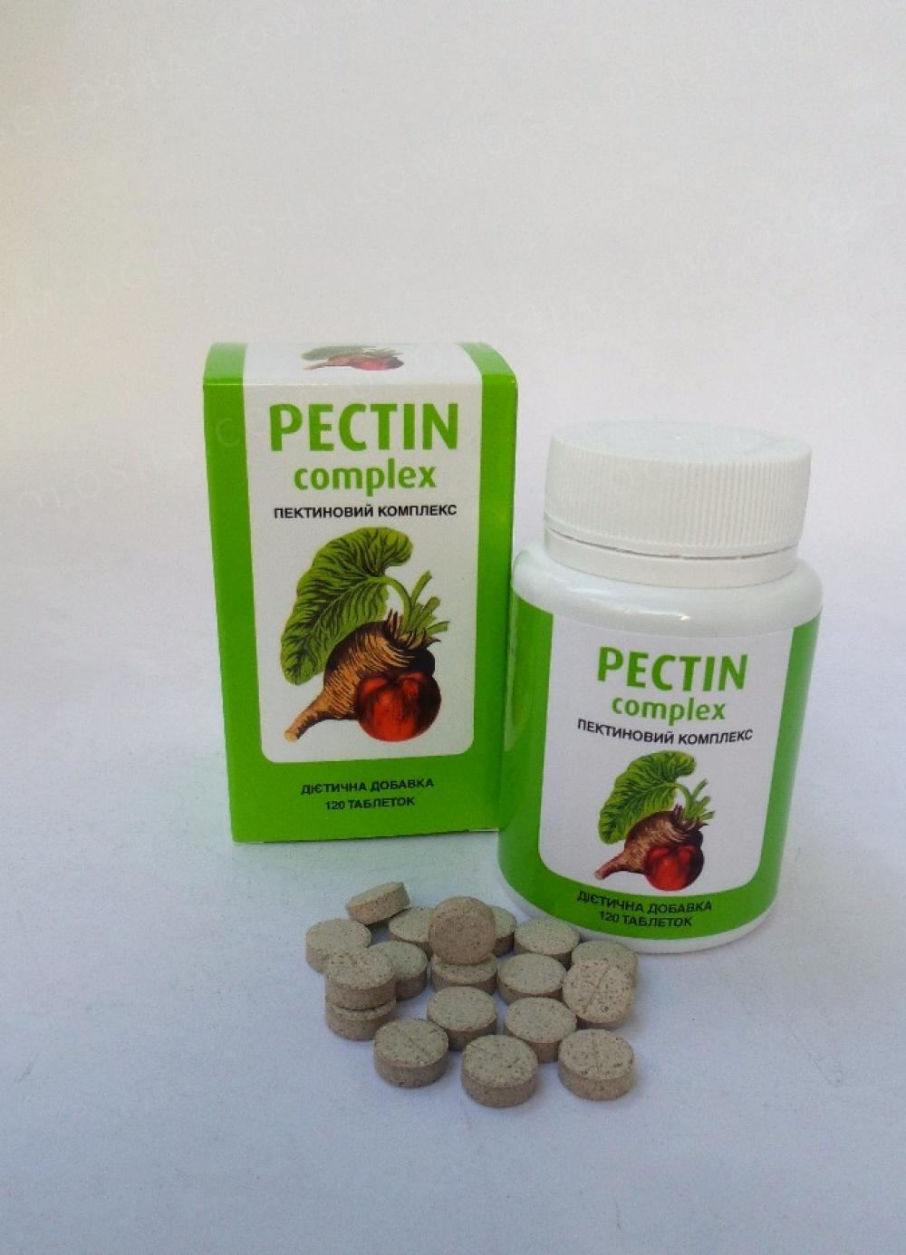 «Пектиновий Комплекс» - 120 таблеток