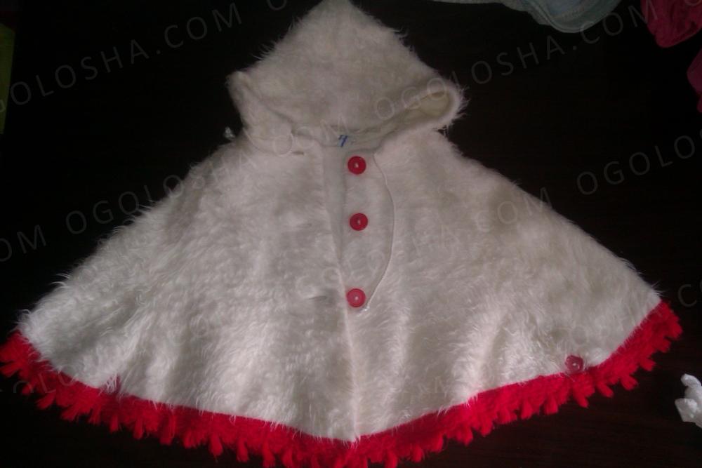 Продам пальто-пончо для девочки 82 размера