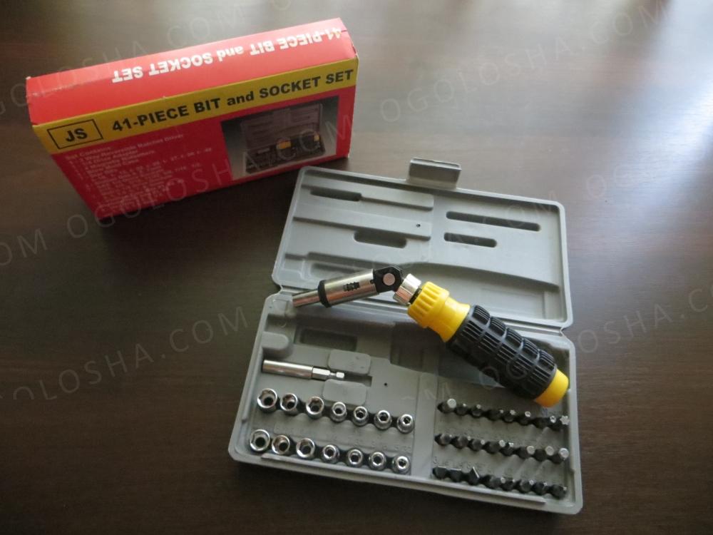 Набір ручного інструменту на 41 предмет Aiwa Набор инструментов