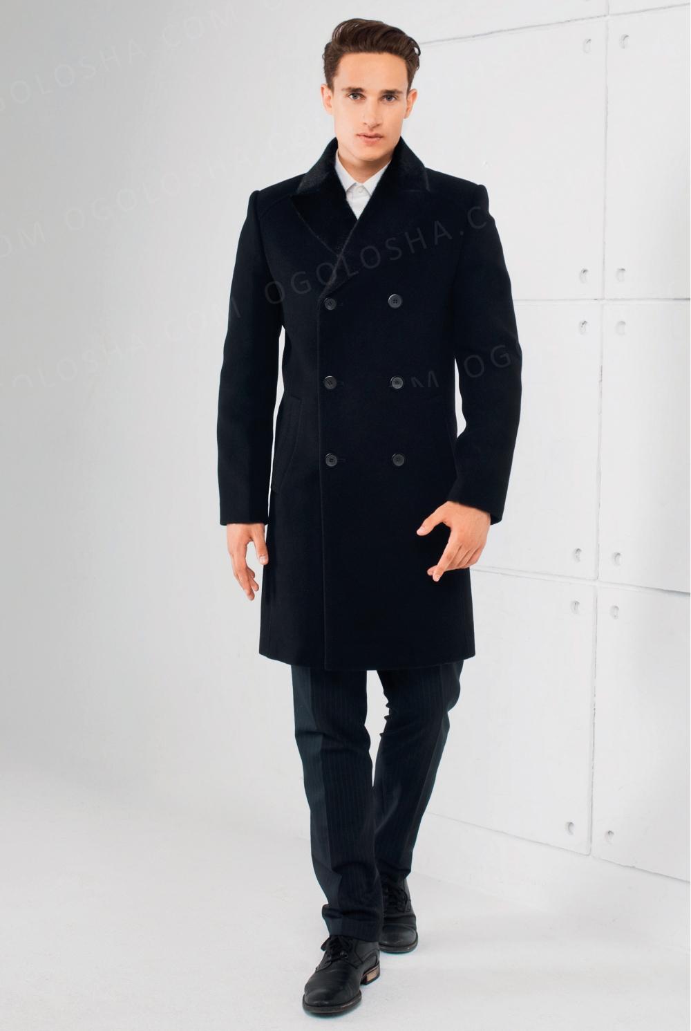 Мужское зимнее пальто Sun's House S-445 (Дипломат)