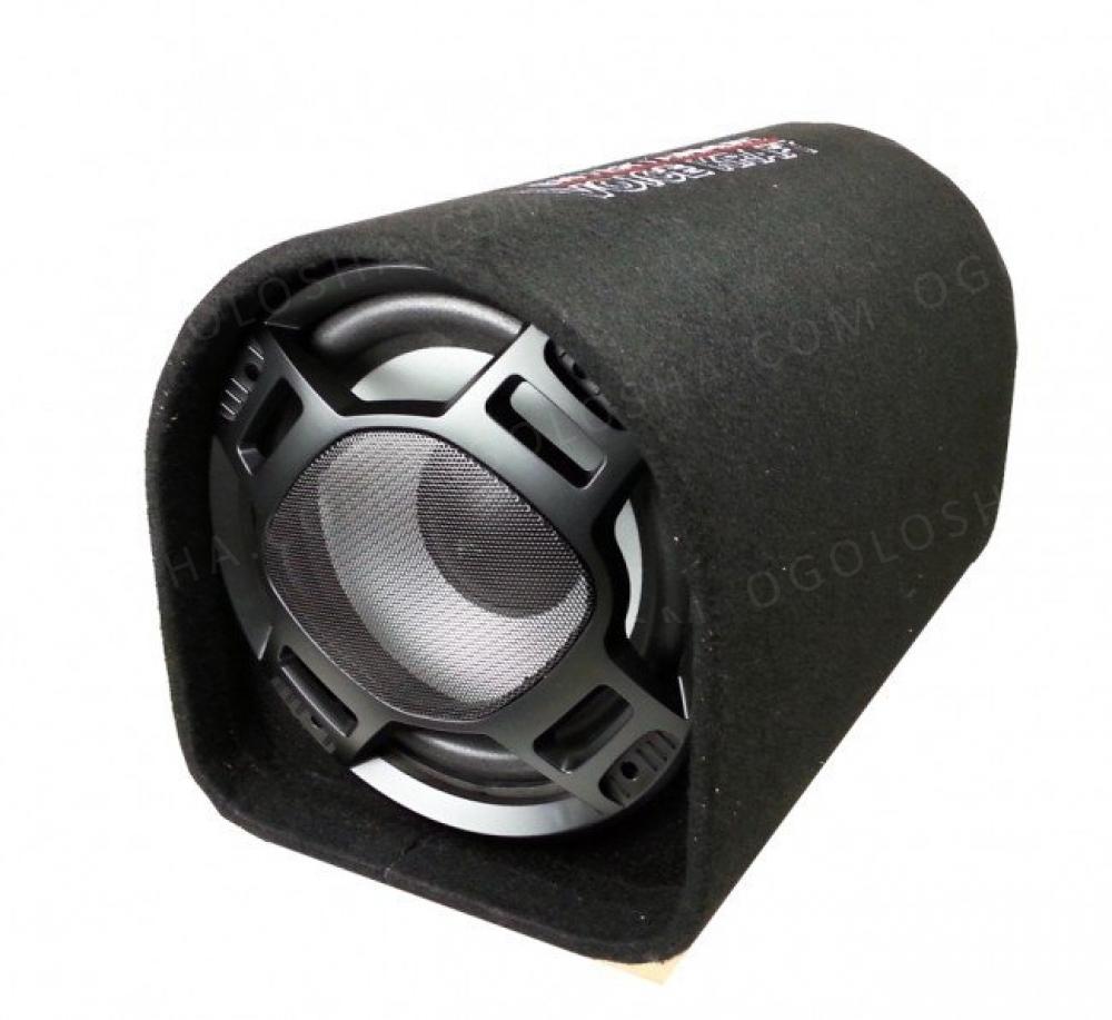 Новый активный сабвуфер Voice Kraft 1010 + комплект кабелей для устано
