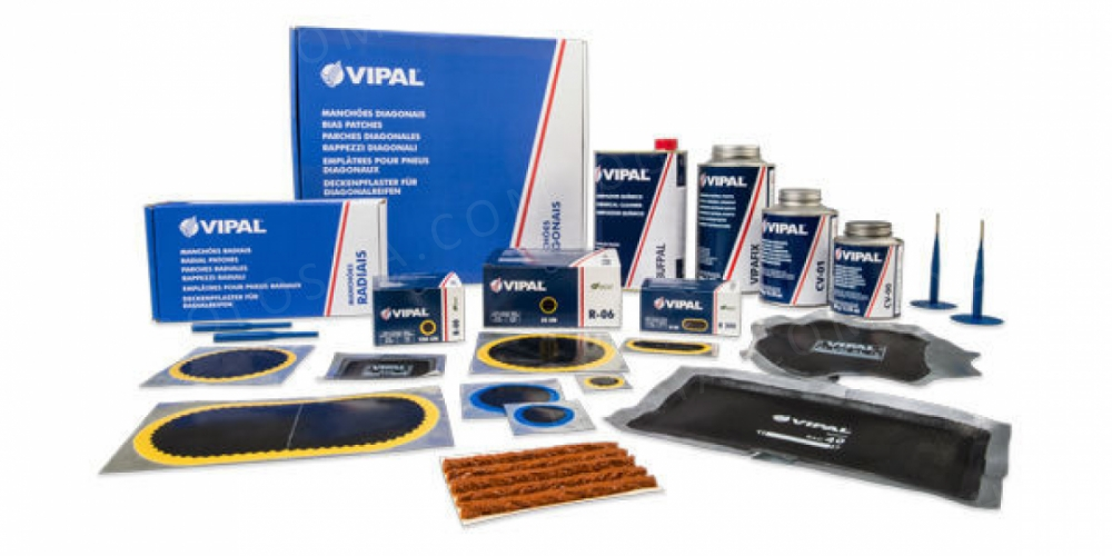 Шиноремонтные материалы (материалы для ремонта шин) Vipal.