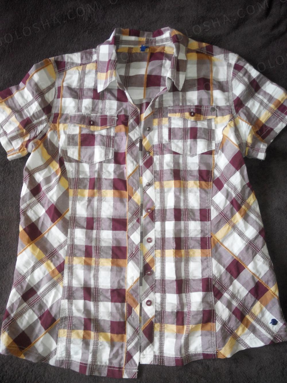 Рубашка женская летняя 44 размер