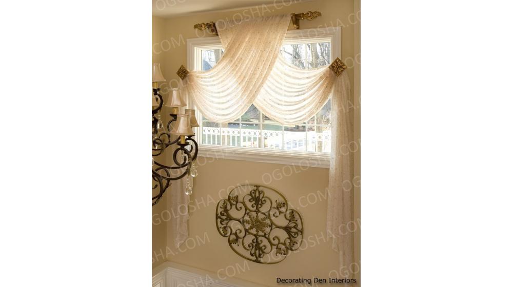 Пошив штор, гардин и текстиля под заказ.