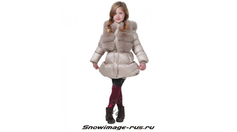 Пуховик SnowImage для девочек 110