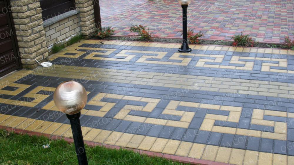 тротуарная плитка-качественно и недорого