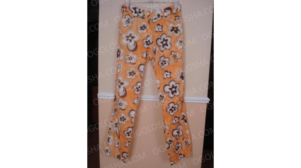 Летние прямые брюки с принтом бренд Voodoo Dolls