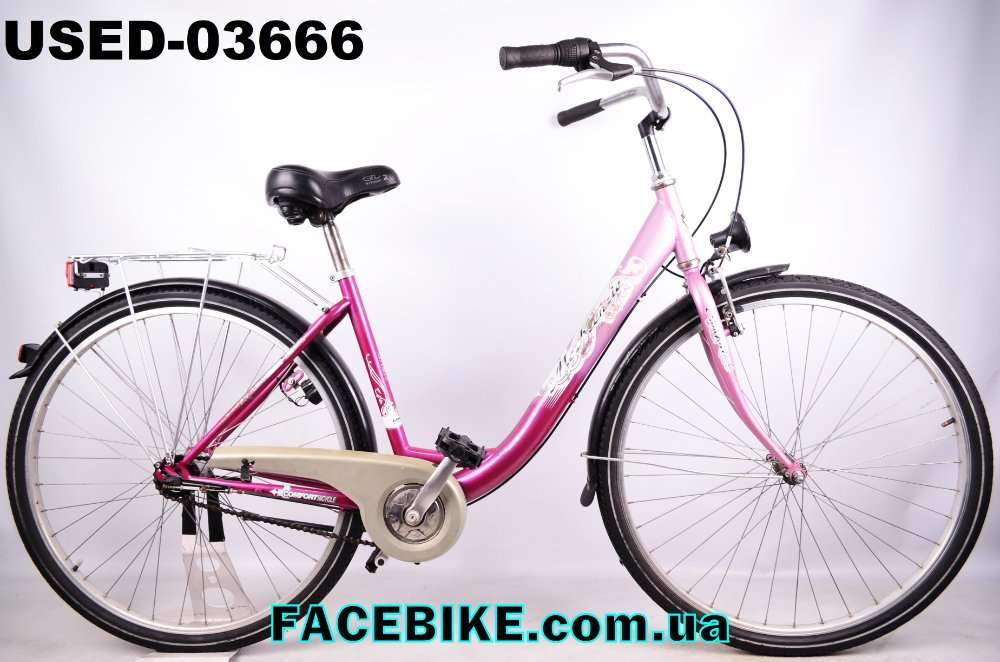 БУ Городской велосипед McKenzie-Гарантия,Документы-у нас Большой выбор