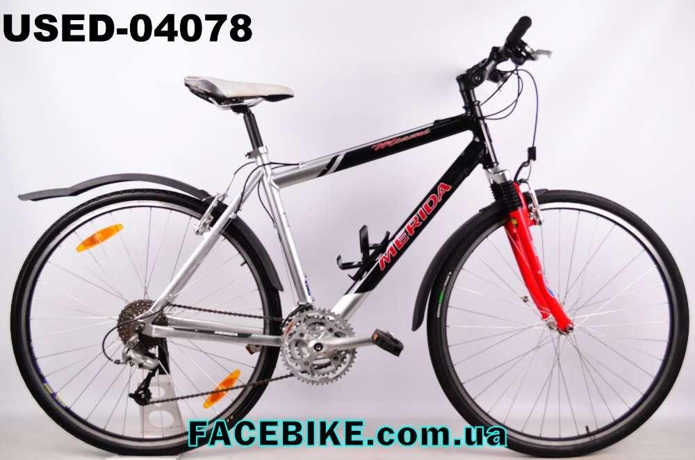 БУ Гибридный велосипед Merida-Гарантия,Документы-Большой выбор!