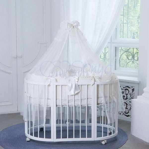 Комплект в кроватку All Baby. Кофейный