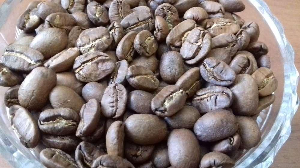 Свежеобжаренный кофе в зернах Mexico Maragogype 500г.