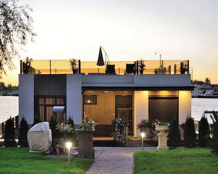 Дом с террасой на плаву 180 м2, КГ Riviera Zoloche (Вишенки)