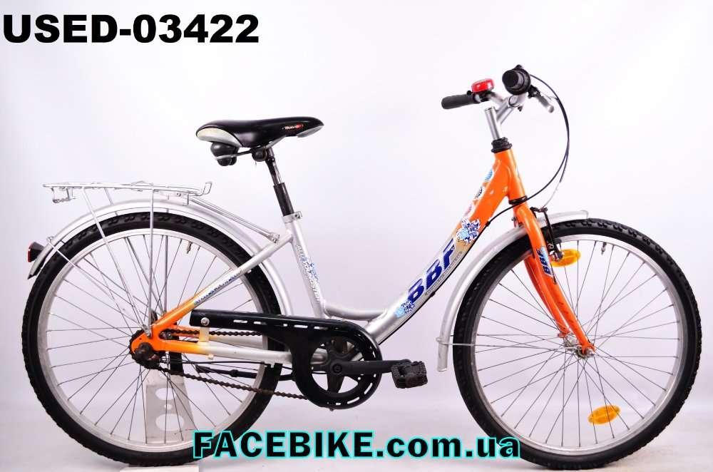 БУ Подростковый велосипед BBF-Гарантия,Документы-у нас Большой выбор!