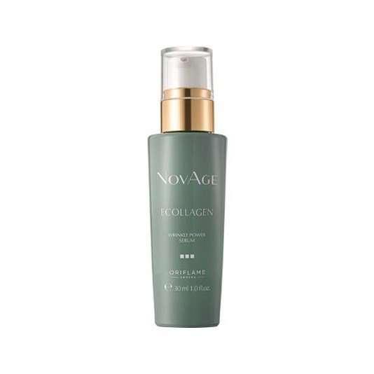 Сиворотка для лица против морщин NovAge ecollagen wrinkle power 30+