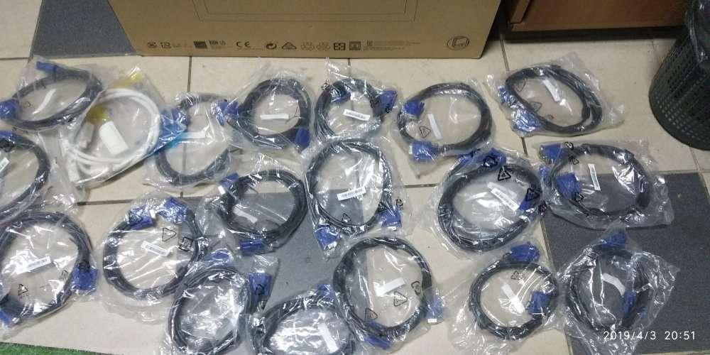 Кабель LAN/USB, для принтера USB AM/BM, VGA, VGA (мама папа), Sata.