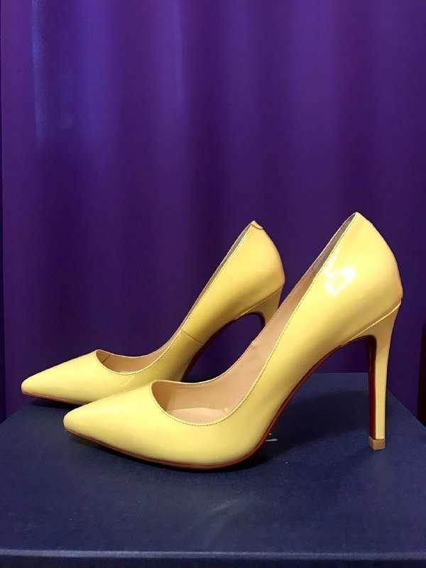 Желтые туфли-лодочки Sexy Fairy