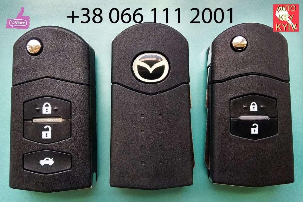 Ключ мазда, корпус ключа Mazda