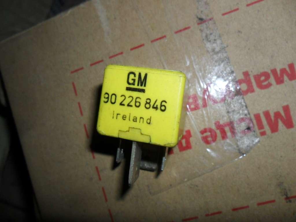 Реле Опель, Opel, GM 90 226 846,  SHO 89 95 37,  70A,   12V, оригинал