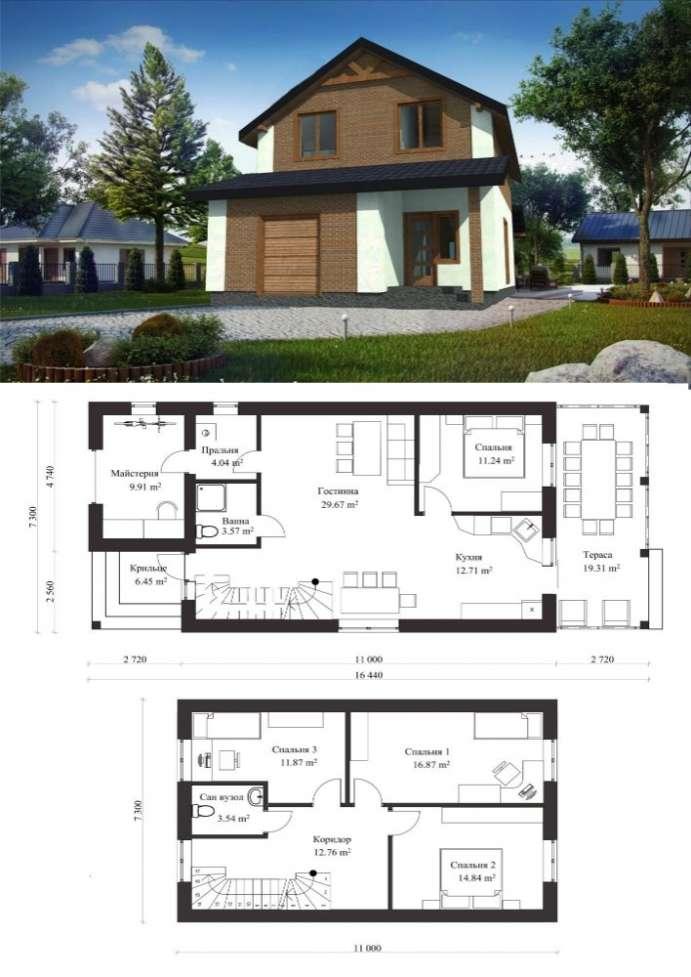 b029f7d3a33 Проекти будинків, проекти домов, котеджей, проектування без меж ...