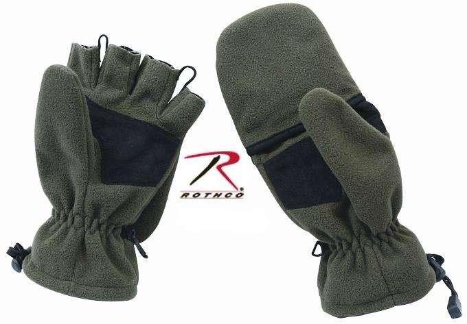 Перчатки флисовые Rothco Sniper Fingerless Gloves