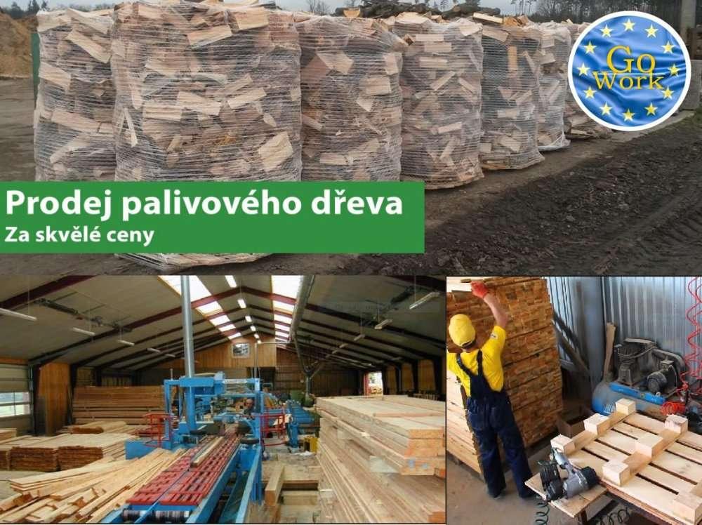 Cборщик піддонів на лісопилці Pila Kalafut в Чехії. GoWork