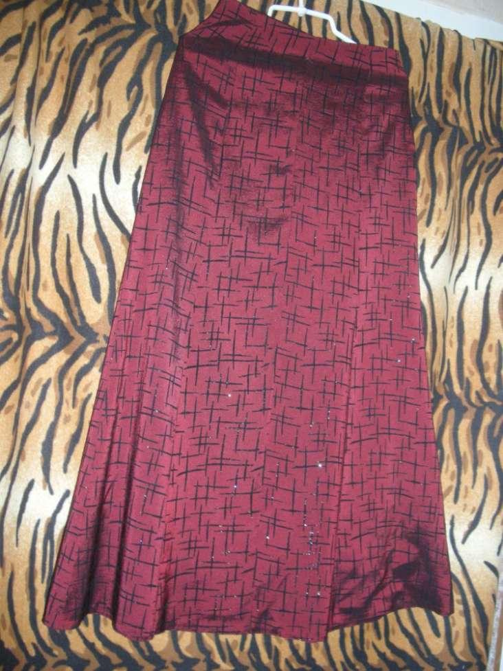 Шикарный костюм тройка вишневого цвета р.46